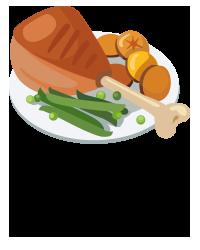 Choix plateaux repas